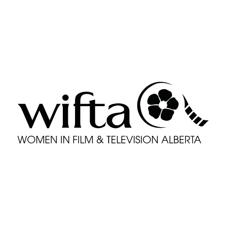 Women in film & tv Alberta logo